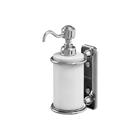 Arcade Wall Mount Soap Dispenser, Soap Dispenser For Bathroom Wall Mounted