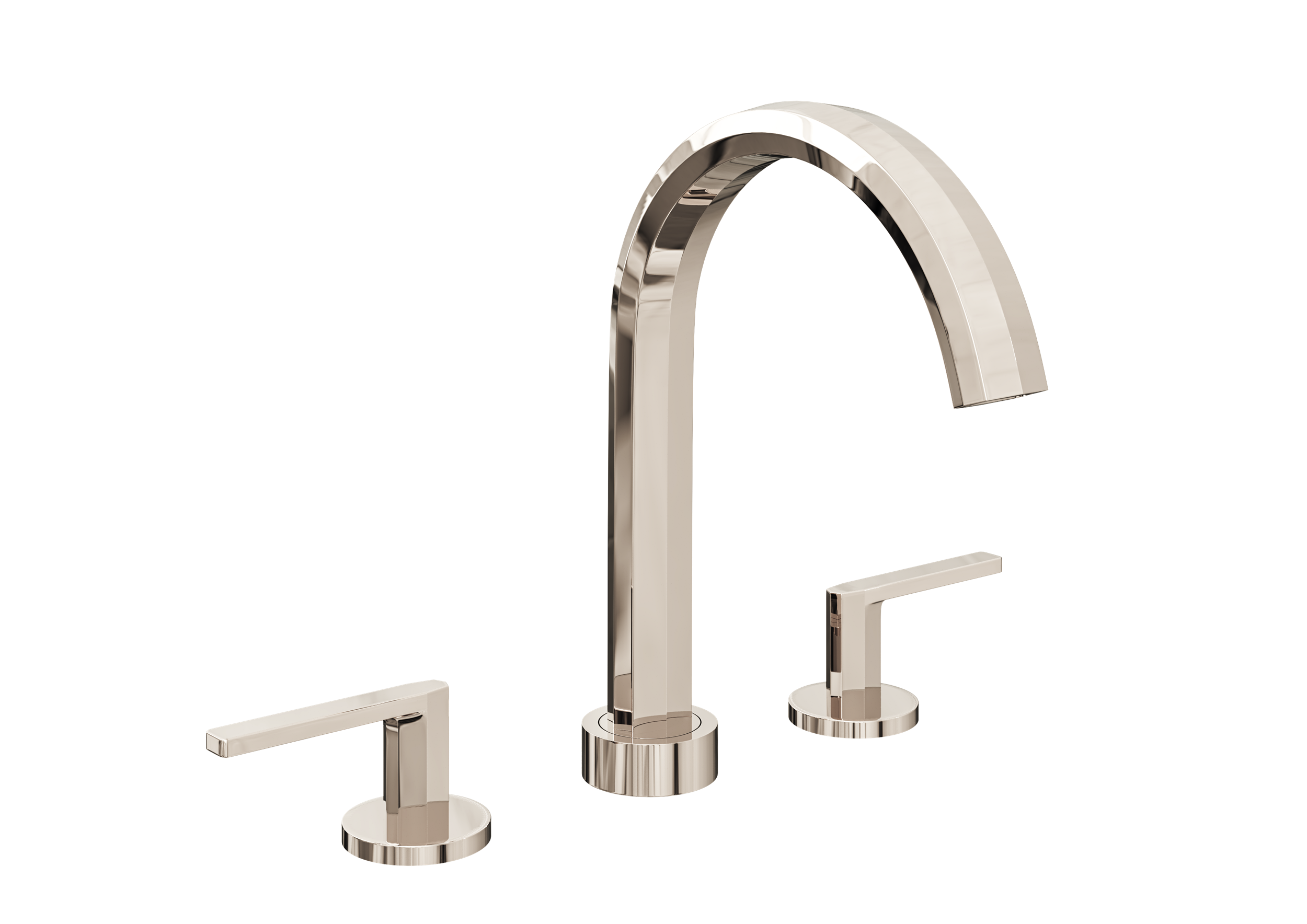 Heir Widespread Faucet in Polished Nickel