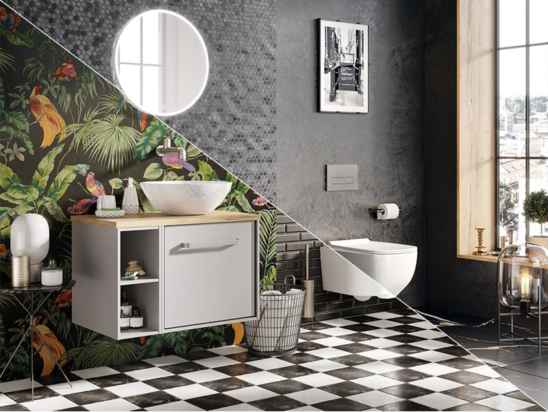 Black And White Style In The Bathroom Part 1 Crosswater Bathrooms