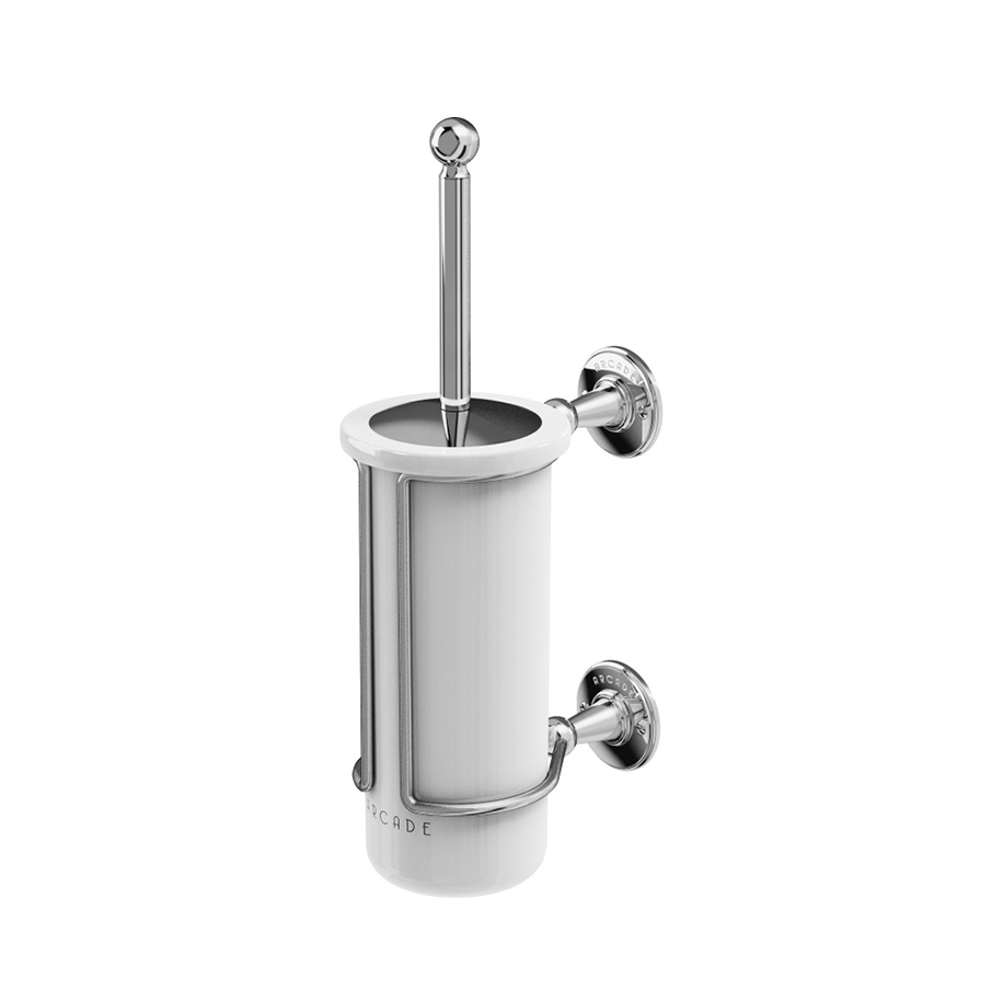 Arcade Wall Mount Toilet Brush Holder In View All Products